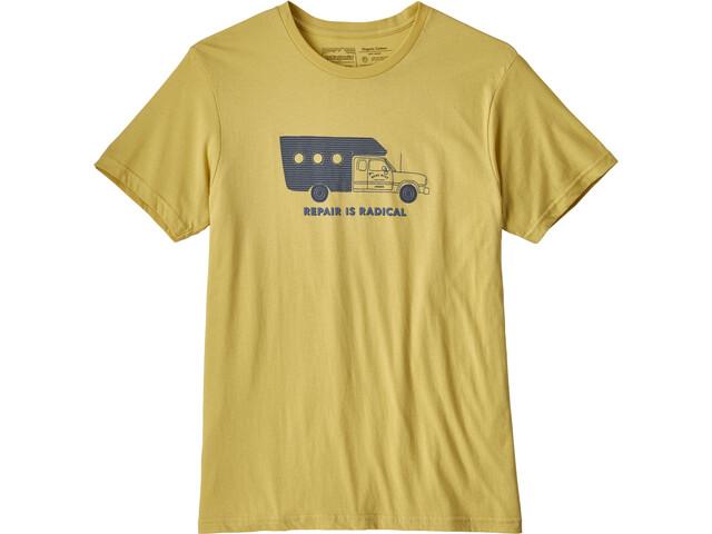 Patagonia M's Repair Is Radical Organic T-Shirt Limestone
